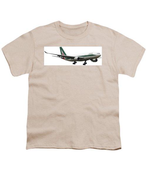 Alitalia, Airbus A330-202. Youth T-Shirt