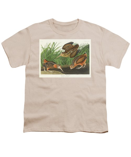 American Woodcock Youth T-Shirt by John James