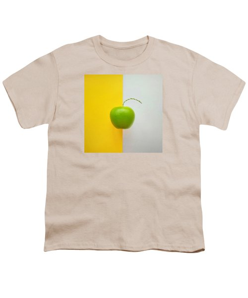 Green Apple Youth T-Shirt by Ann Foo