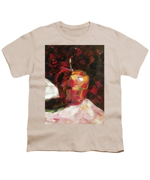 Apple  Youth T-Shirt by Roxy Rich