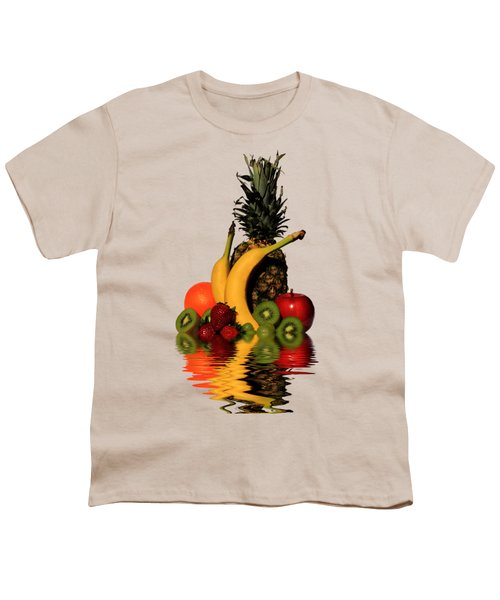 Fruity Reflections - Light Youth T-Shirt by Shane Bechler