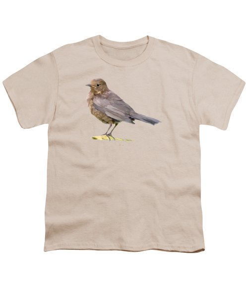 Young Blackbird  Youth T-Shirt by Bamalam  Photography