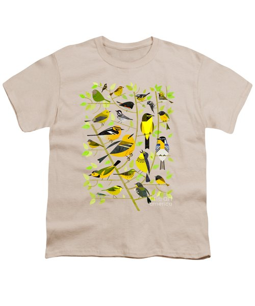 Warblers 1 Youth T-Shirt by Scott Partridge
