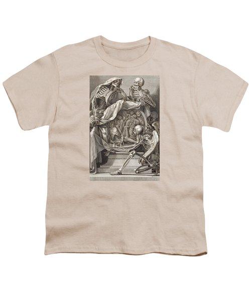 Bernardino Genga - Allegorical Emblems Of Death Youth T-Shirt