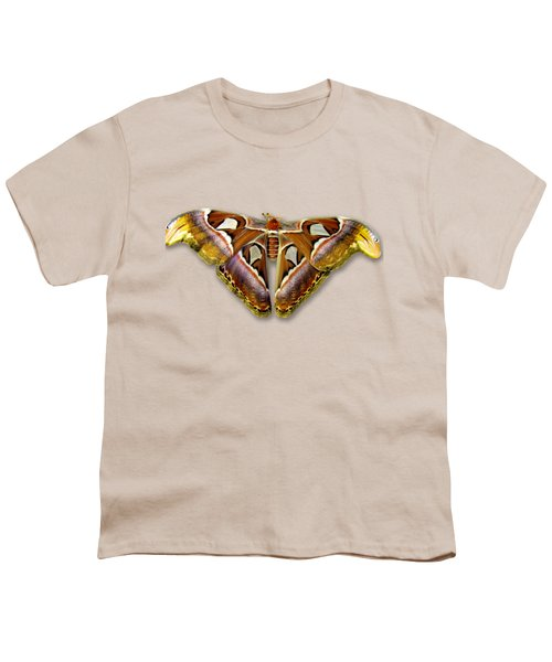 Atlas Moth 2 Sehemu Mbili Unyenyekevu Youth T-Shirt