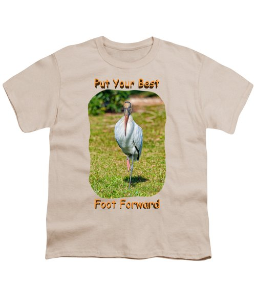 Best Foot Forward Youth T-Shirt