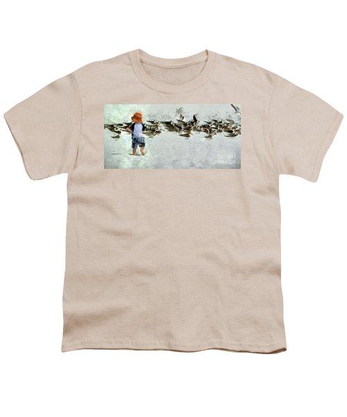 Bird Play Youth T-Shirt