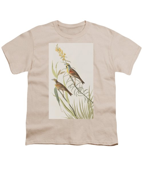 Black-throated Bunting Youth T-Shirt