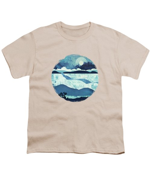 Blue Desert Youth T-Shirt by Spacefrog Designs