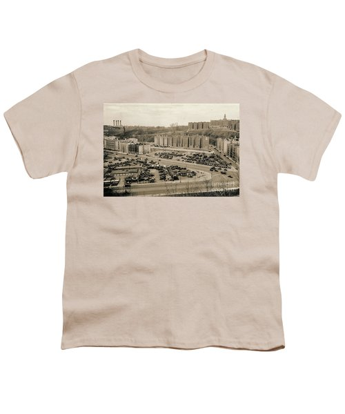 Broadway And Nagle Ave 1936 Youth T-Shirt by Cole Thompson