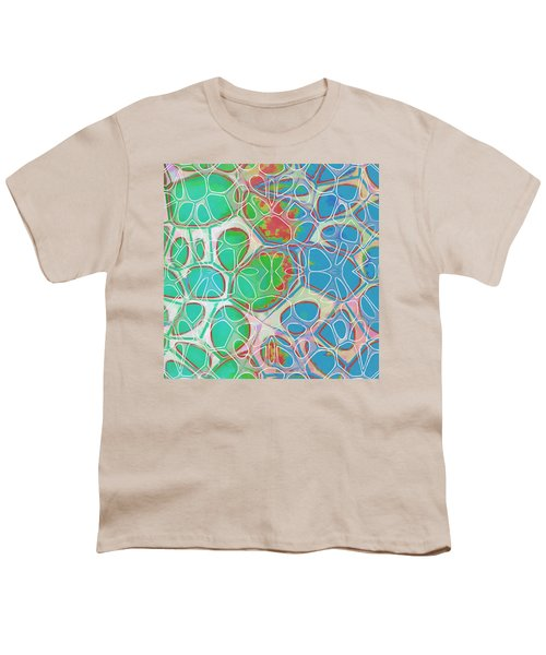 Cell Abstract 10 Youth T-Shirt by Edward Fielding