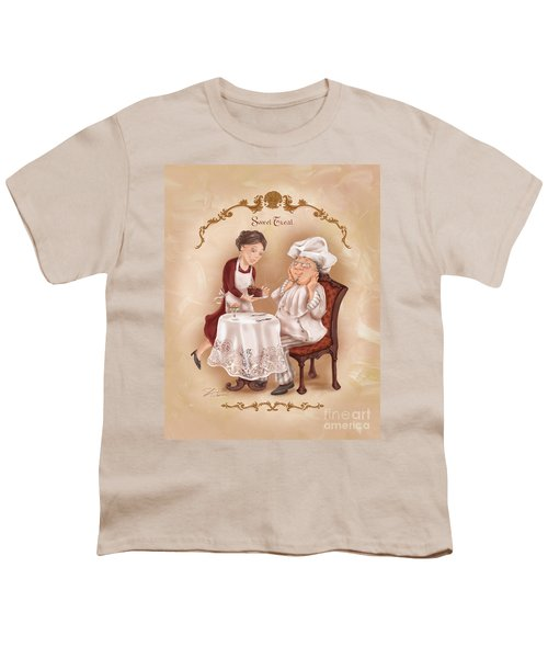 Chefs On A Break-sweet Treat Youth T-Shirt