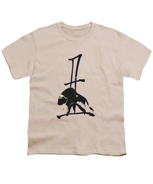 Chinese Zodiac - Year Of The Ox On Rice Paper Youth T-Shirt
