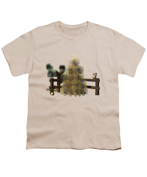 Christmas In The Desert Youth T-Shirt
