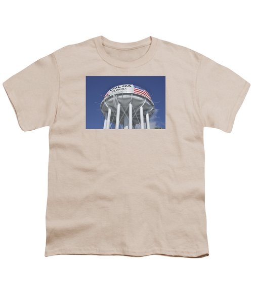 Cocoa Florida Water Tower Youth T-Shirt