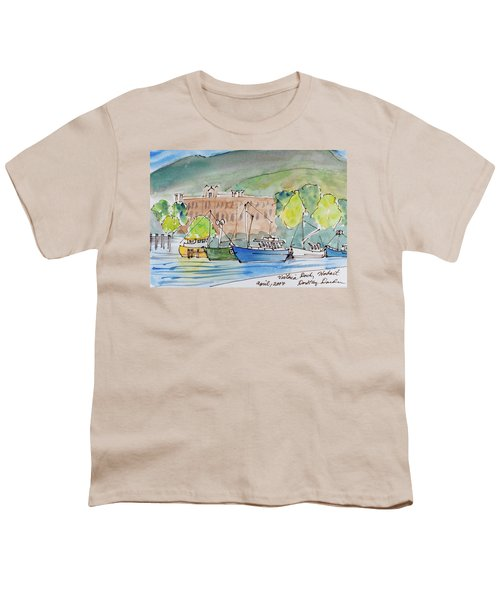 Fishing Boats In Hobart's Victoria Dock Youth T-Shirt
