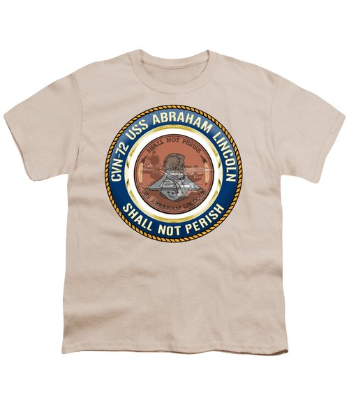 Cvn-72 Uss Abraham Lincoln Youth T-Shirt