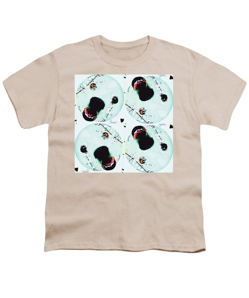 Dog Blossoms  Youth T-Shirt