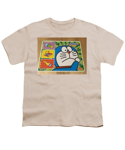 Doraemon Gadget Cat From The Future Youth T-Shirt