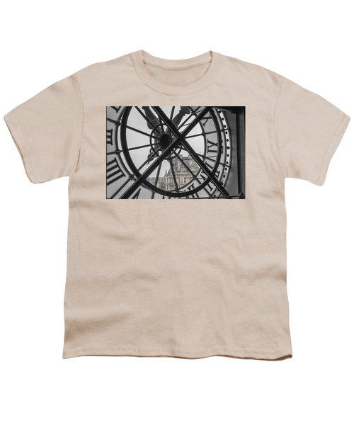 D'orsay Clock Paris Youth T-Shirt