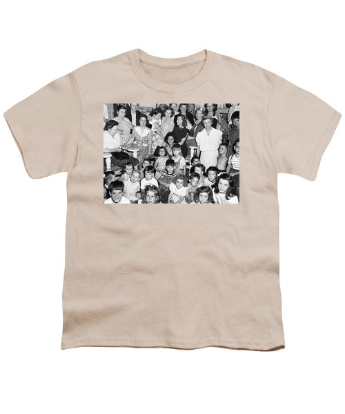 Eleanor Roosevelt And Children Youth T-Shirt