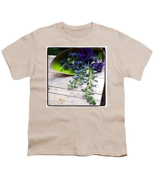 Youth T-Shirt featuring the photograph Excellent Customer Service. #flowers by Mr Photojimsf