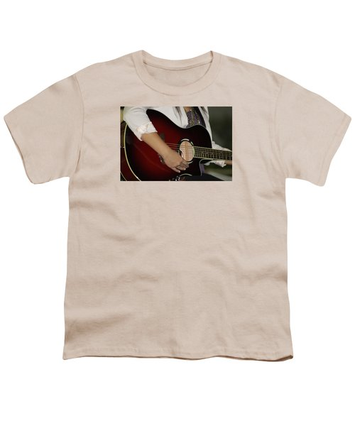 Female Guitarist Youth T-Shirt