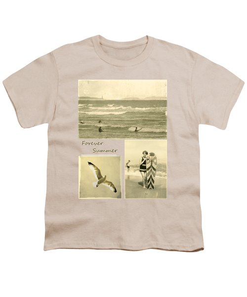 Youth T-Shirt featuring the photograph Forever Summer 3 by Linda Lees