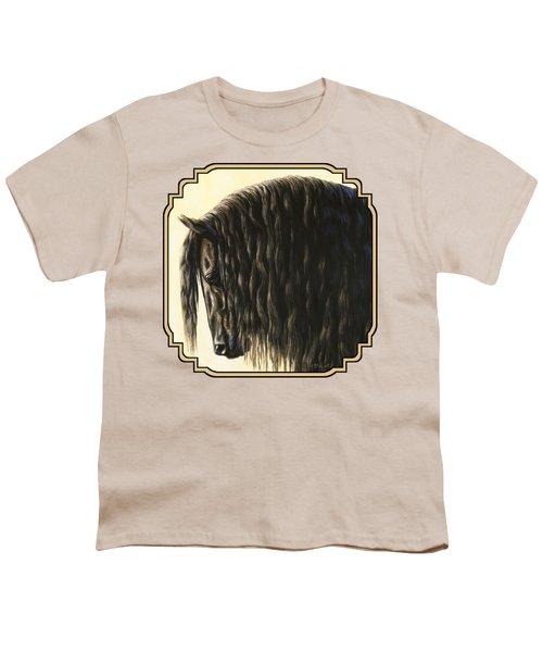 Friesian Horse Phone Case Youth T-Shirt