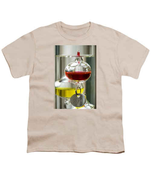 Youth T-Shirt featuring the photograph Galileo Thermometer by Jeremy Lavender Photography
