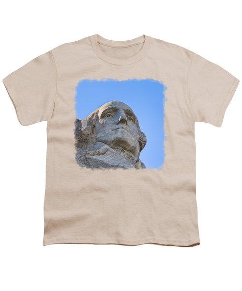 George Washington 3 Youth T-Shirt by John M Bailey