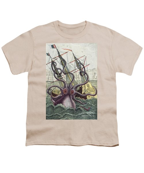 Giant Octopus Youth T-Shirt