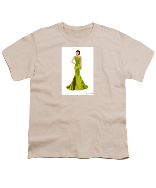 Youth T-Shirt featuring the digital art Grace by Nancy Levan