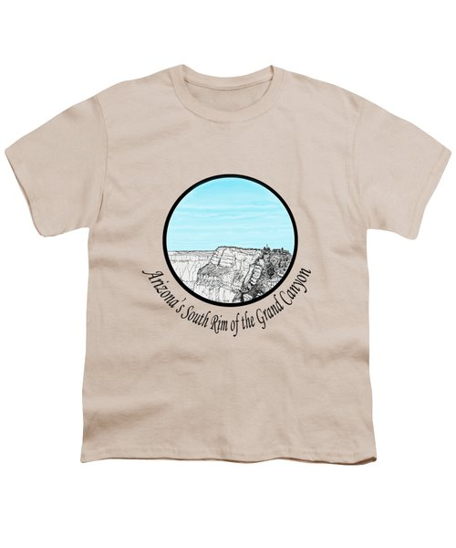 Grand Canyon - South Rim Youth T-Shirt by James Lewis Hamilton