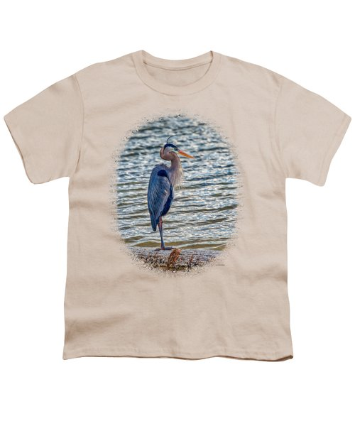 Great Blue Heron Youth T-Shirt