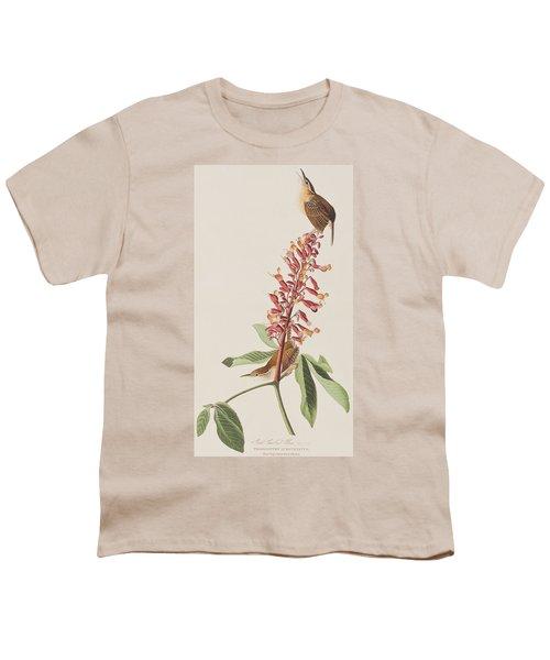 Great Carolina Wren Youth T-Shirt