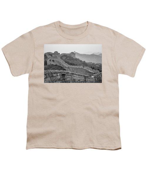 Great Wall 7, Jinshanling, 2016 Youth T-Shirt by Hitendra SINKAR