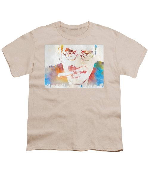 Groucho Marx Youth T-Shirt by Dan Sproul