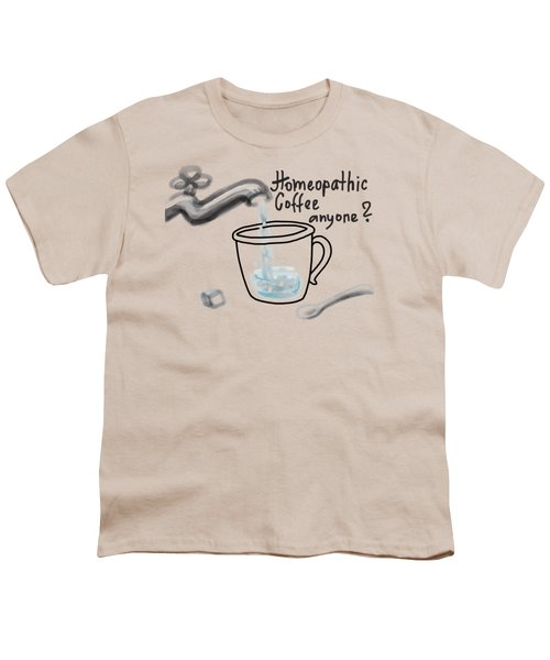Homeopathic Coffee Youth T-Shirt
