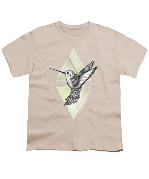 Hummingbird Youth T-Shirt by Barlena