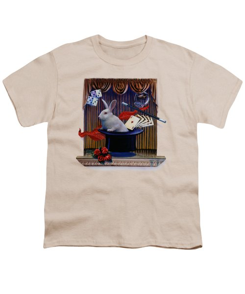 I Believe In Magic Youth T-Shirt by Rob Corsetti