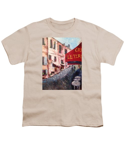 Impressions Of A French Cafe Youth T-Shirt