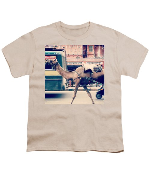India - Where Even The Camels Overtake Youth T-Shirt