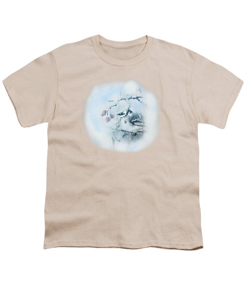 January Bluejay  Youth T-Shirt by Susan Capuano