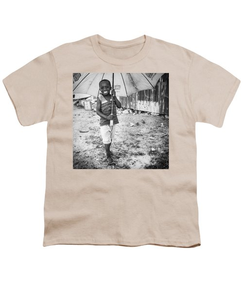 Just A Boy And His Umbrella, Nigeria Youth T-Shirt