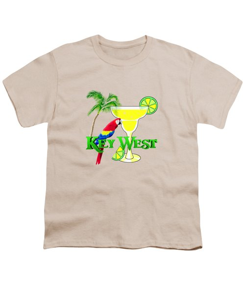 Key West Margarita Youth T-Shirt by Chris MacDonald