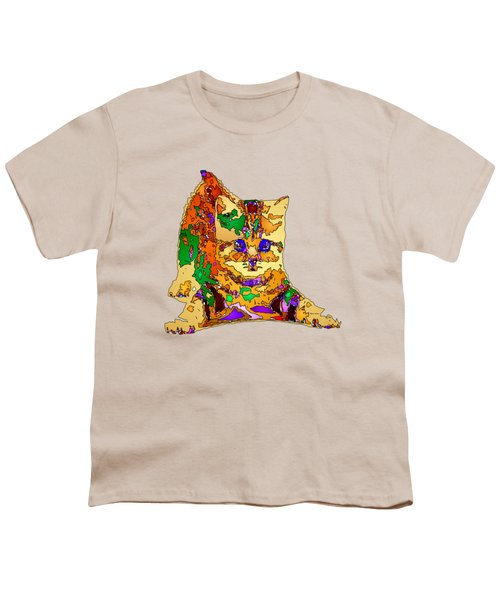 Kitty Love. Pet Series Youth T-Shirt