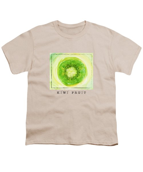 Kiwi Fruit Youth T-Shirt by Kathleen Wong