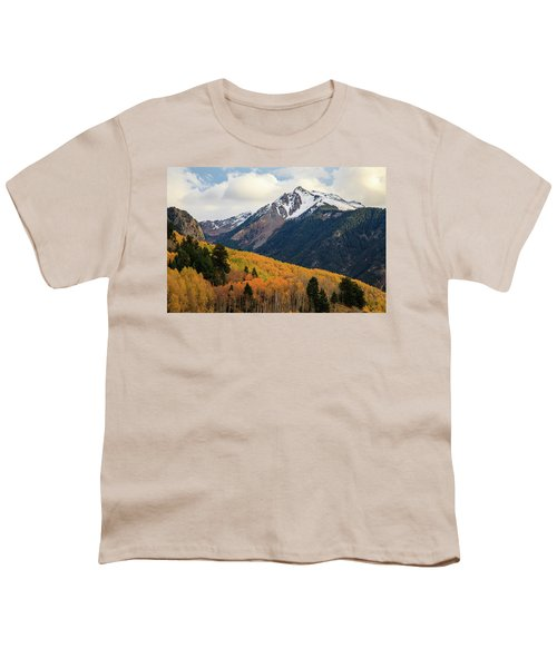 Youth T-Shirt featuring the photograph Last Light Of Autumn by David Chandler