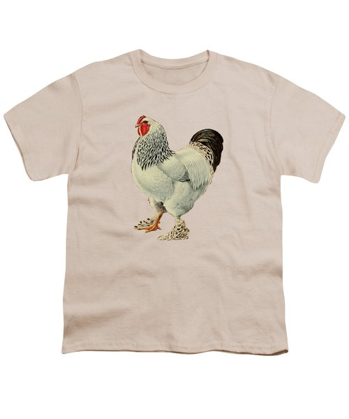 Light Brahmas Rooster Youth T-Shirt